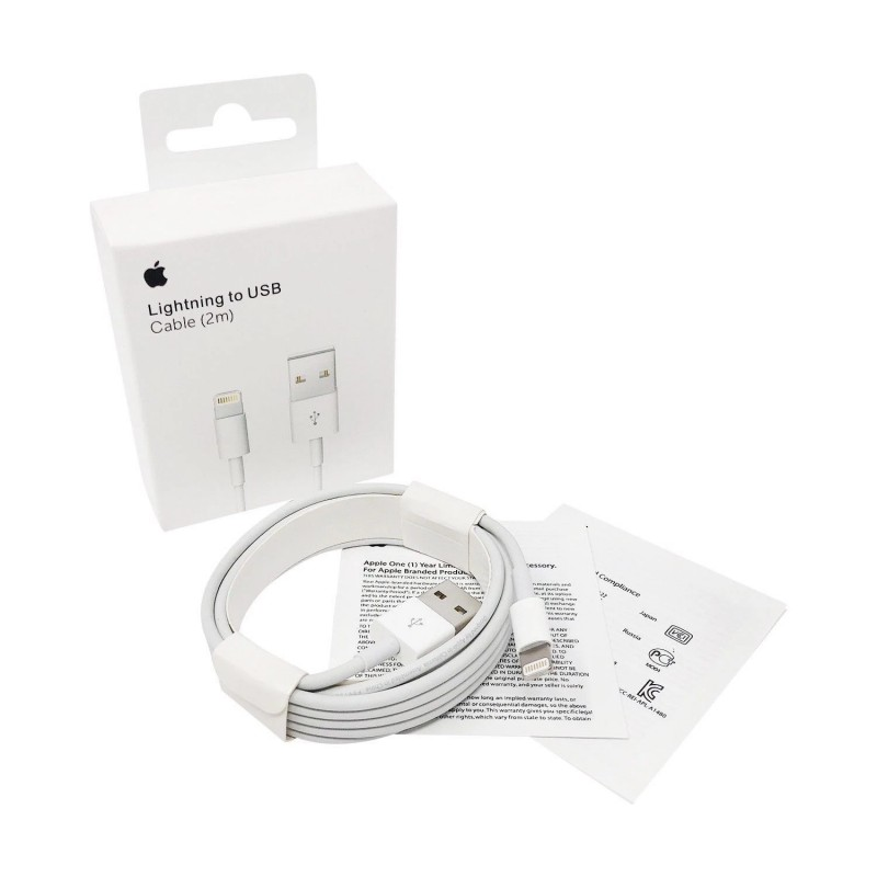 iPhone lightning to USB 2m kábel
