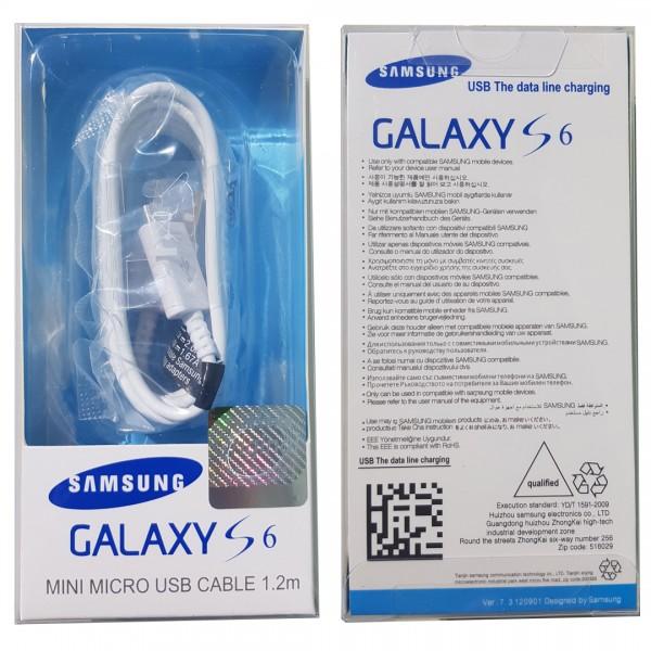 Samsung 1.2M micro USB töltő és adatkábel