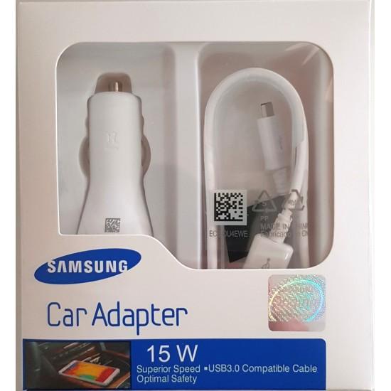 Samsung autós töltő gyorstöltő + 1.5M micro USB kábel szett