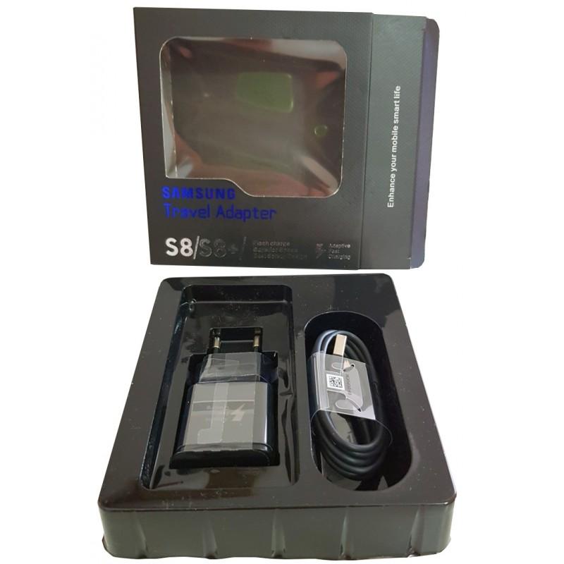 Samsung hálózati töltő gyorstöltő + 1.2M USB C kábel szett